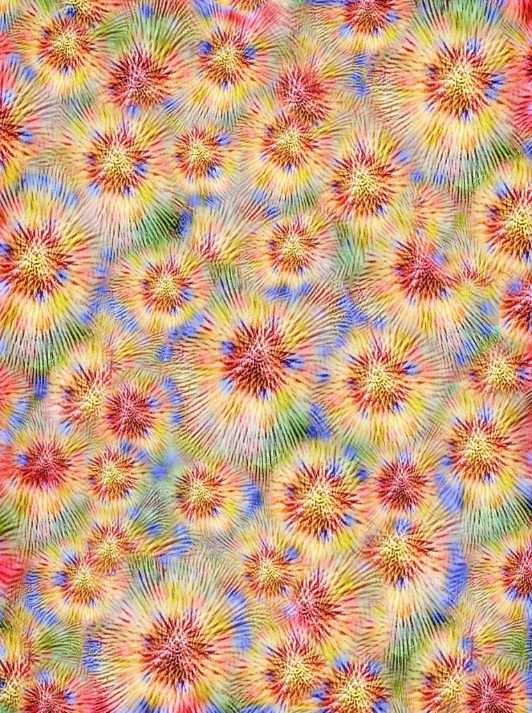 Field of Colors. Digital Art by Shorena Ratiani